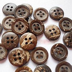 Boutons de dessins animés pour enfants, bouton de noix de coco, chameau, 12 mm de diamètre(NNA0YXG)