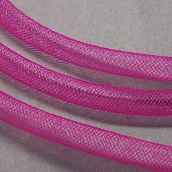 corde du filet de fil en plastique, mediumvioletred, 10 mm, 30 mètres(PNT-Q003-10mm-14)