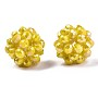 Gold Round Glass Beads(X-GLAA-T024-01C-A11)