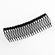 Trendy Women's Iron Hair Combs with Flower Rhinestones(OHAR-R175-05)-2