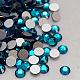 Blue Zircon Faceted Glass Flat Back Rhinestone for Nail Art(X-RGLA-C002-SS10-229)-1