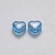 Transparent Spray Painted Glass Beads(X-GLAA-R211-02)-2
