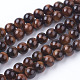 Natural Red Tiger Eye Beads Strands(G-C076-6mm-1D)-1