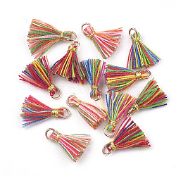 Light Gold Colorful Cotton Charms(FIND-S281-01)