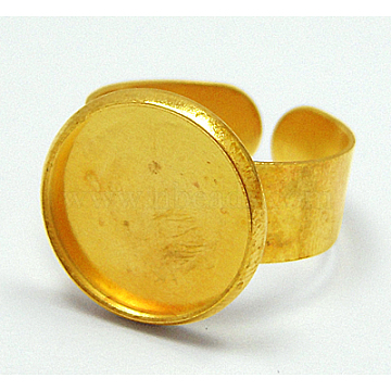 Golden Brass Ring Components
