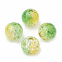 8mm LimeGreen Round Acrylic Beads(OACR-N002-01H)