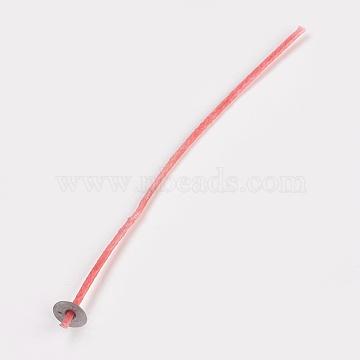 Candle Wick, Red, 15.5x0.2cm; 100pcs/bag(DIY-TAC000-03A)