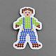 Boy DIY Fuse Beads Cardboard Templates(X-DIY-S002-21A)-1