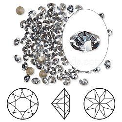 cristal autrichien cabochons de strass, passions de cristal, déjouer retour, ronde Xirius, 1088, 001 teinte bleue blsh_crystal, 4~4.1 mm(X-1088-PP32-F001BLSH)
