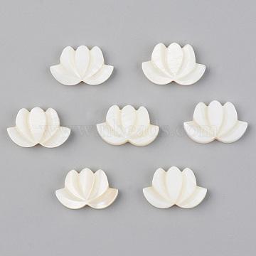 18mm Seashell Color Flower Freshwater Shell Beads