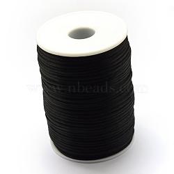 Cordon de polyester, noir, 1.5 mm; environ 100 m/rouleau(OCOR-Q022-04)