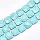Synthetic Turquoise Beads Strands(G-S357-D02-16)-1