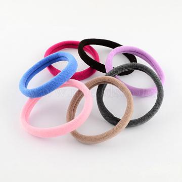 Mixed Color Elastic Fibre Hair Ties