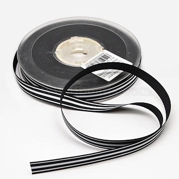 Black Polyester Ribbon