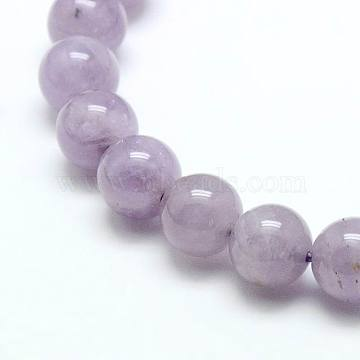 Natural Amethyst Beads Strands, Round, Amethyst, 10mm, Hole: 1mm; about 38pcs/strand, 15.75inches(X-G-G448-10mm-24)
