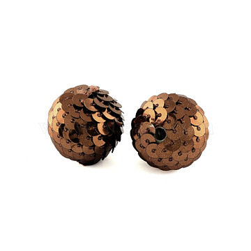 22mm CoconutBrown Oval Other Woven Beads Beads