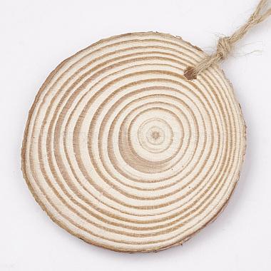 Undyed Wooden Pendants(WOOD-T011-34)-2