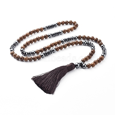 CoconutBrown Non-magnetic Hematite Necklaces