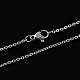 316 Stainless Steel Cable Chains Necklaces(X-STAS-S029-02)-2