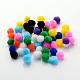 DIY Doll Craft Pom Pom Yarn Pom Pom Balls(AJEW-S006-25mm-M)-1