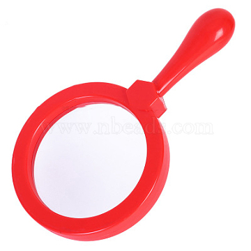 Red Plastic Magnifier