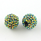 AB-Color Resin Rhinestone Beads(X-RESI-S315-16x18-04)-1