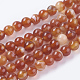Natural Striped Agate/Banded Agate Beads Strands(X-G-G591-6mm-03)-1