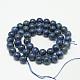 Dyed Natural Grade AB Lapis Lazuli Round Bead Strands(X-G-M290-6mm-AB)-2