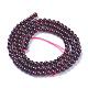 Natural Garnet Beads Strands(G-P433-28A)-1