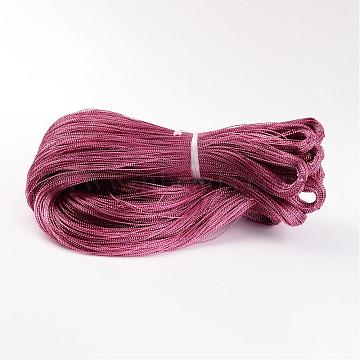 Metallic Cord, Dyed, Cerise, 0.8mm(AS004Y)
