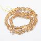 Natural Citrine Beads Strands(G-P406-44)-2