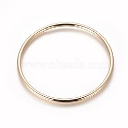 poignées de sac en fer, anneau, or et de lumière, 111.5x5 mm; diamètre intérieur: 101.5 mm(FIND-WH0043-52)