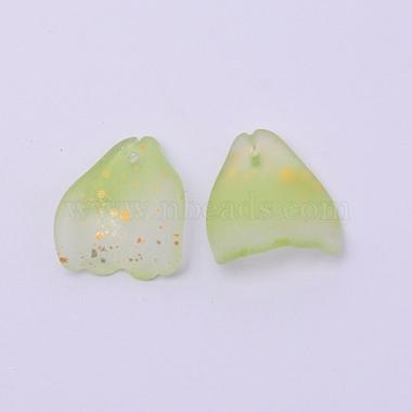 Handmade Foil Glass Beads(FOIL-CJC0002-03G)-2