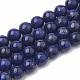 Natural Lapis Lazuli Beads Strands(X-G-S295-18-8mm)-1