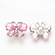 Alloy Rhinestone Snap Buttons(X-SNAP-T001-10A)-2