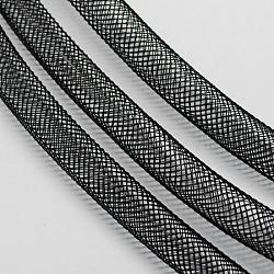 Filet en plastique, noir, 16mm, 28 mètres(PNT-Q003-16mm-16)