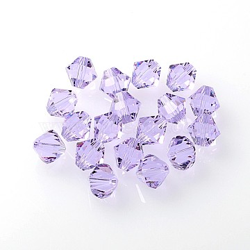 Austrian Crystal Beads, 5301_Bicone, 371_Violet, 8x8mm, Hole: 1mm(X-5301-8mm371)