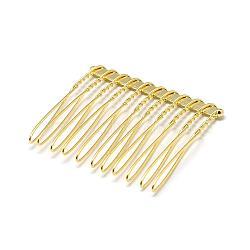 Accessoires peignes cheveux en fer , or, 37x42x4mm(OHAR-Q275-05G)
