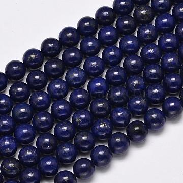 10mm MidnightBlue Round Lapis Lazuli Beads