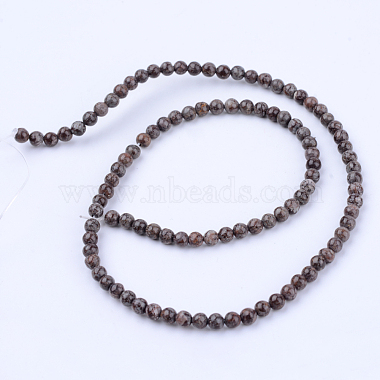 Natural Snowflake Obsidian Beads Strands(X-G-Q462-8mm-37)-2