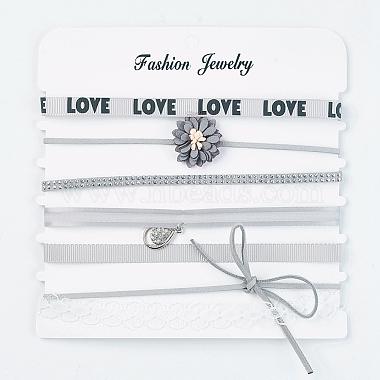 LightGrey Alloy Necklaces