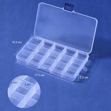 Plastic Bead Storage Containers(X-CON-Q026-02A)-2