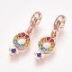 Alloy European Dangle Beads(MPDL-S067-005RG)-1