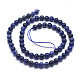 Natural Sodalite Beads Strands(G-K224-01-6mm)-2