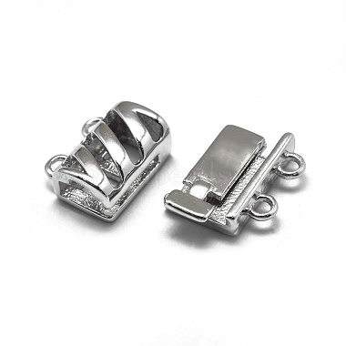 925 Sterling Silver Box Clasps(STER-L057-016P)-3