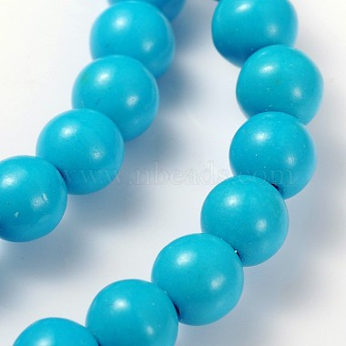 15.5inches Synthetic Howlite Beads Strands(GSR6mmC129)-2