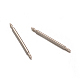 Stainless Steel Double Flanged Spring Bar Watch Strap Pins(STAS-M231-06)-1