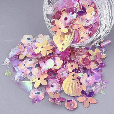 Camellia Plastic Beads