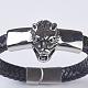 Men's Braided Leather Cord Bracelets(BJEW-P194-17B)-4