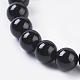 Natural Tourmaline Beads Strands(X-G-G099-6mm-11)-3